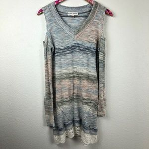 Knox Rose cold shoulder sweater size XS // 0388